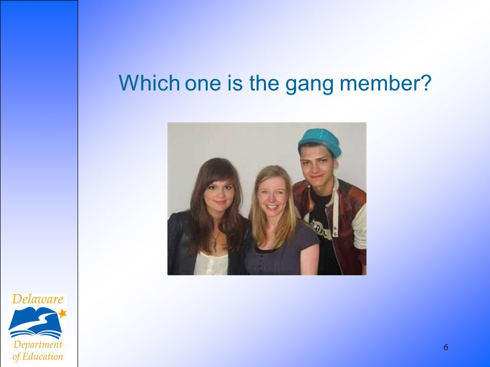 Gangs are on the internet and Facebook 7 Click on the Video 1 link below to watch video through internet explorer or Windows Media Player.