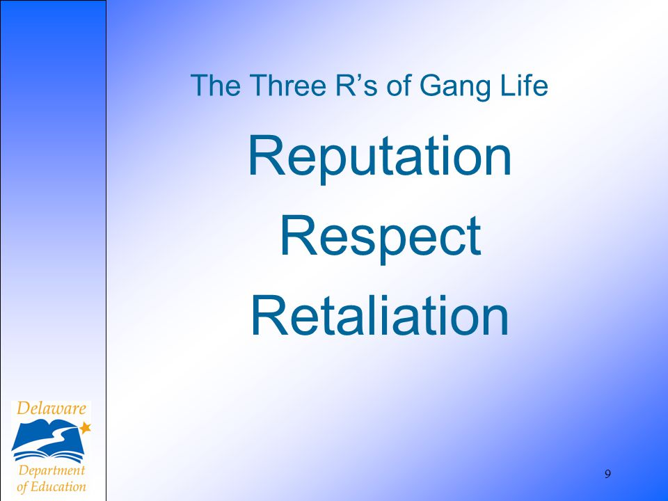 Multiple identifiers are needed to confirm gang activity 50