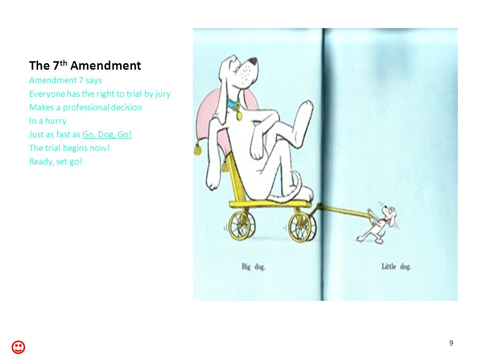 The 8 th Amendment Amendment 8 Is really great It protects you And others too From unreasonable punishments From bad mistakes.