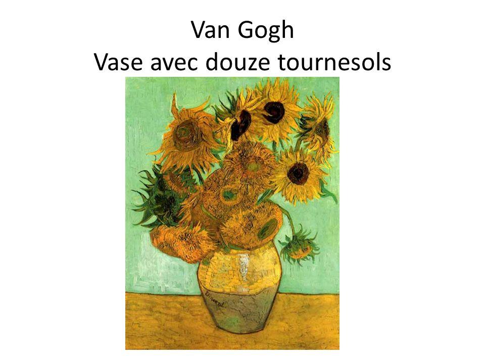 Van Gogh Vase avec douze tournesols