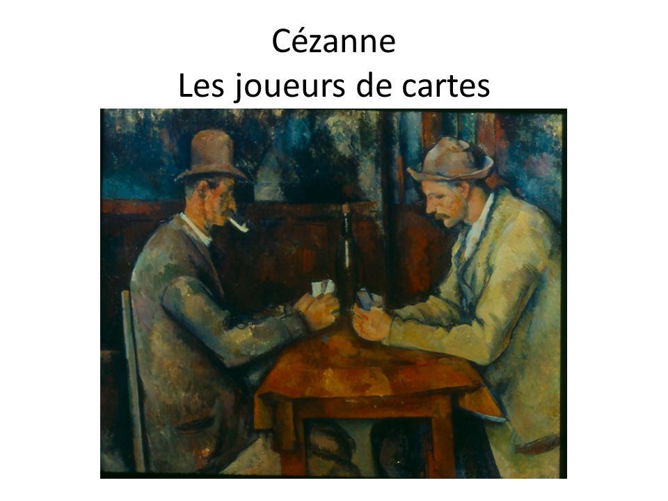 Cézanne Les joueurs de cartes