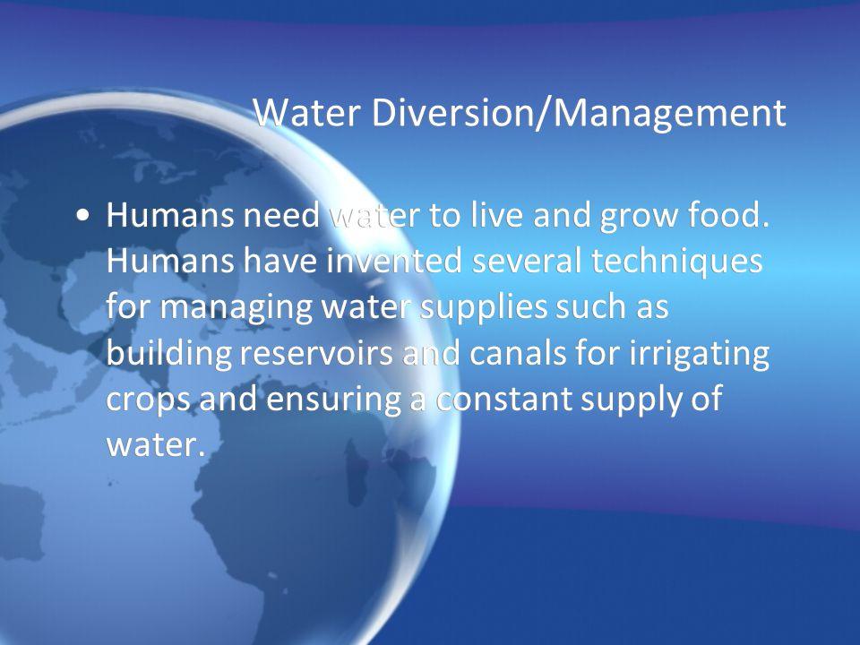 Desertification Desertification occurs near deserts.