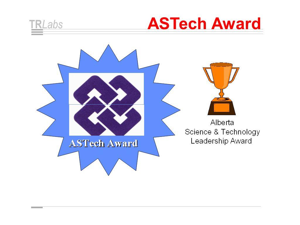 TR Labs ASTech Award