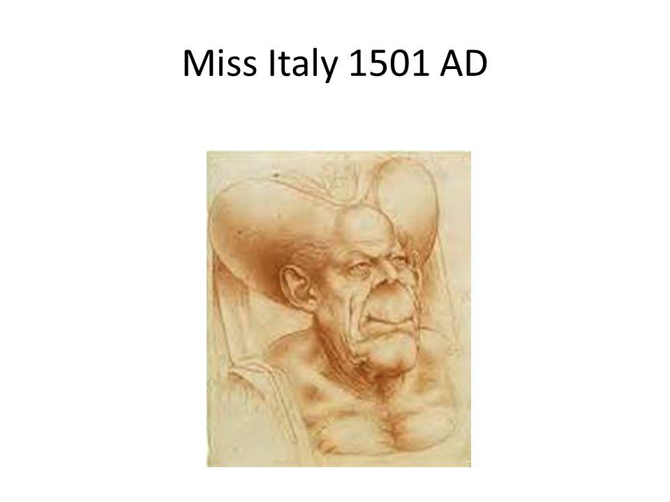 Miss Italy 1501 AD