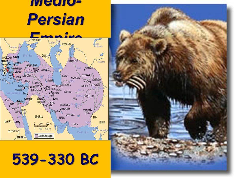 Medio- Persian Empire 539-330 BC