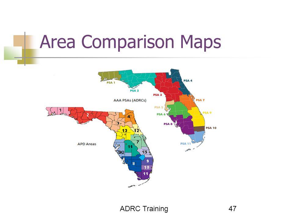 47 Area Comparison Maps