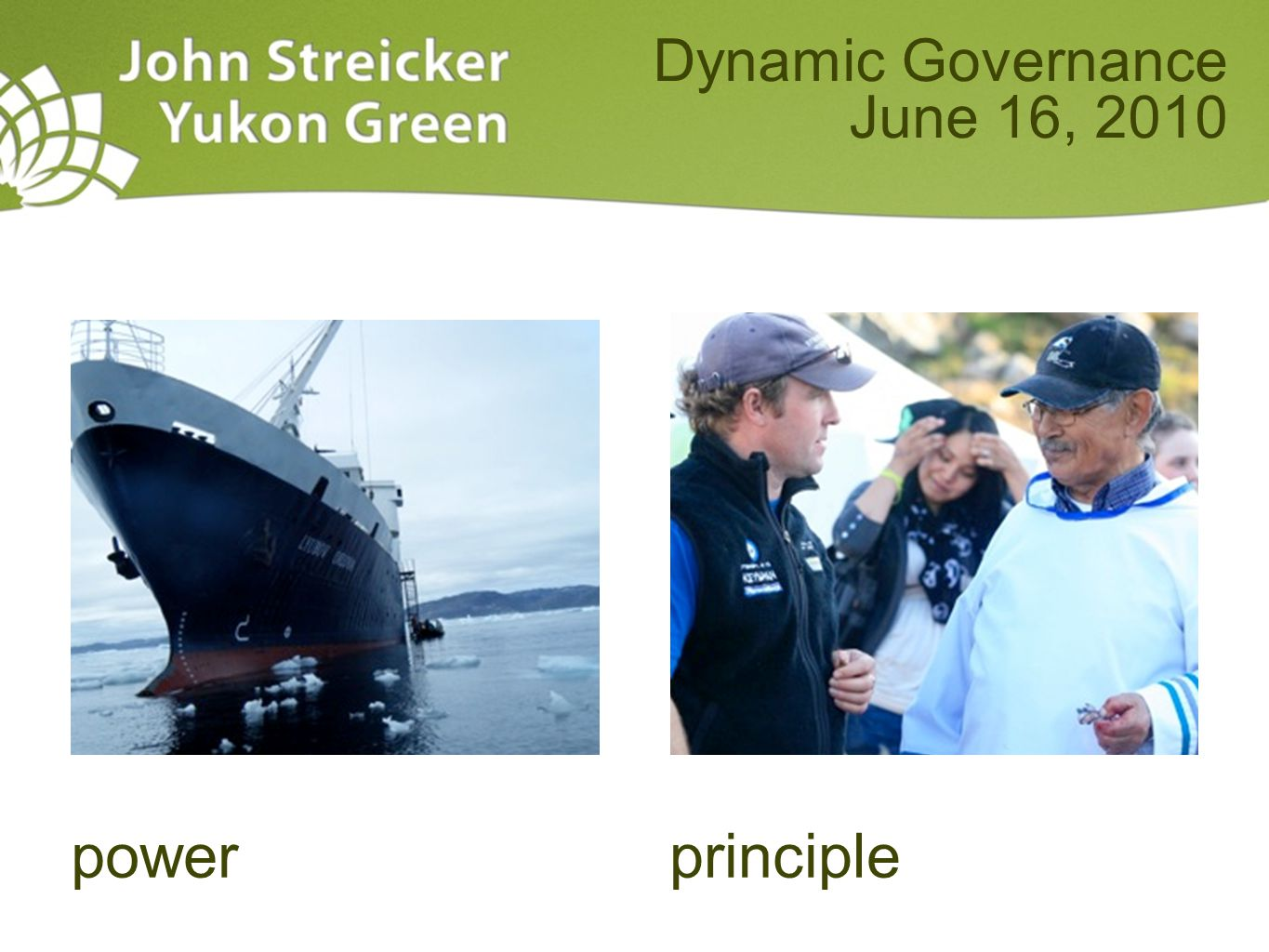 powerprinciple Dynamic Governance June 16, 2010
