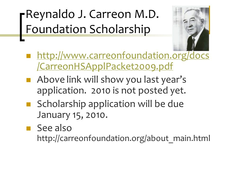 Reynaldo J. Carreon M.D.