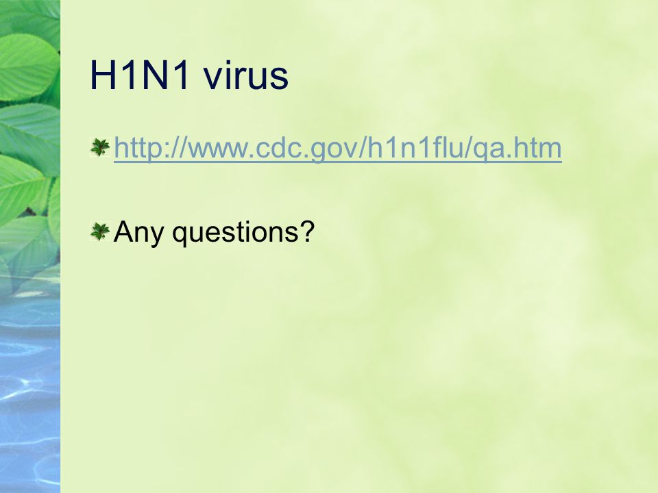 Infectious Diseases, cont.