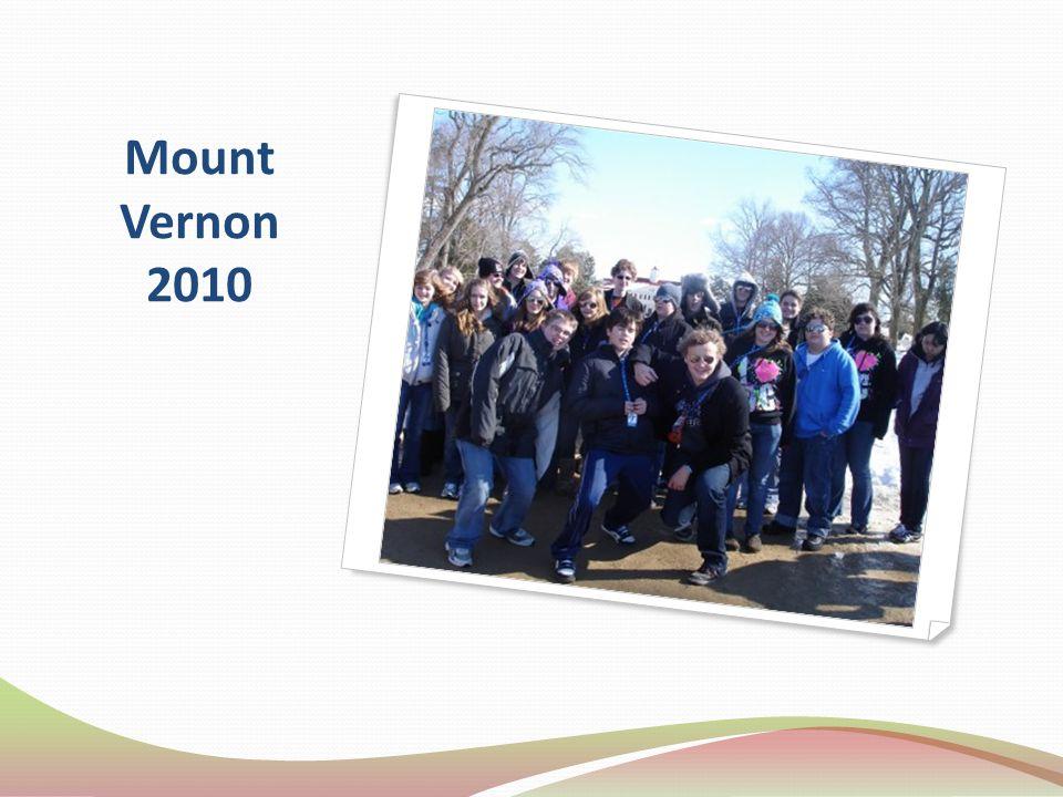 Mount Vernon 2010
