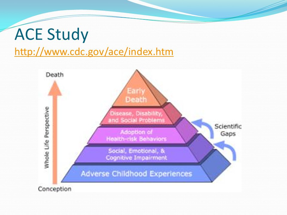 ACE Study     Adverse Childhood Experiences (ACE) Study