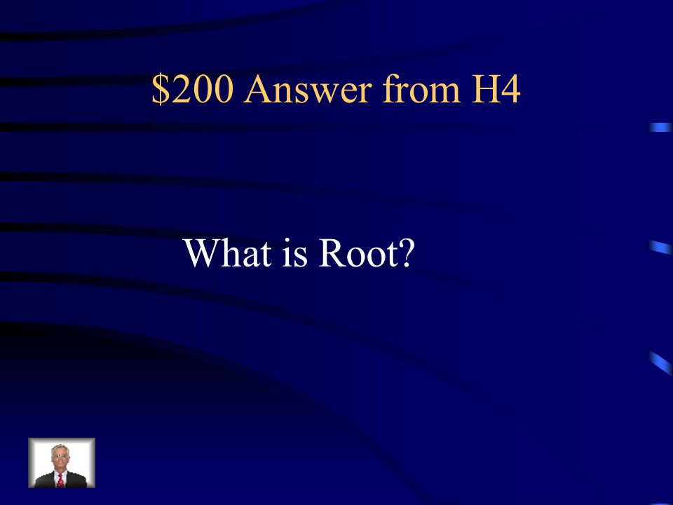 $200 Question from H4 Unscramble this word- O T O R.