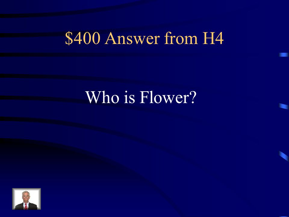 $400 Question from H4 Unscramble this word- L O E F W R.