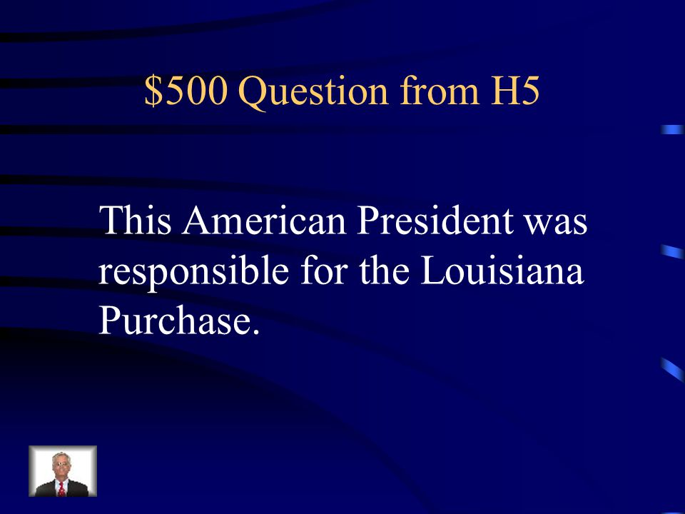 $400 Answer from H5 Who is Martin Luther King