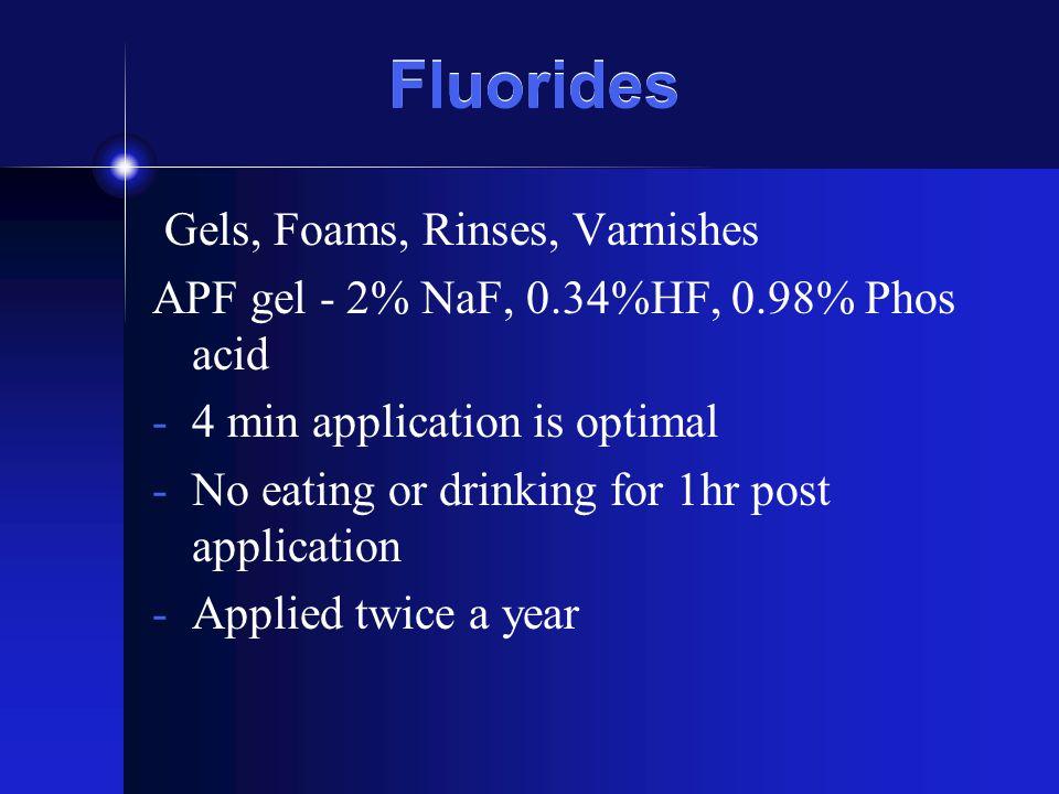 NDB Excerpts F inhibits glucosyltransferase.