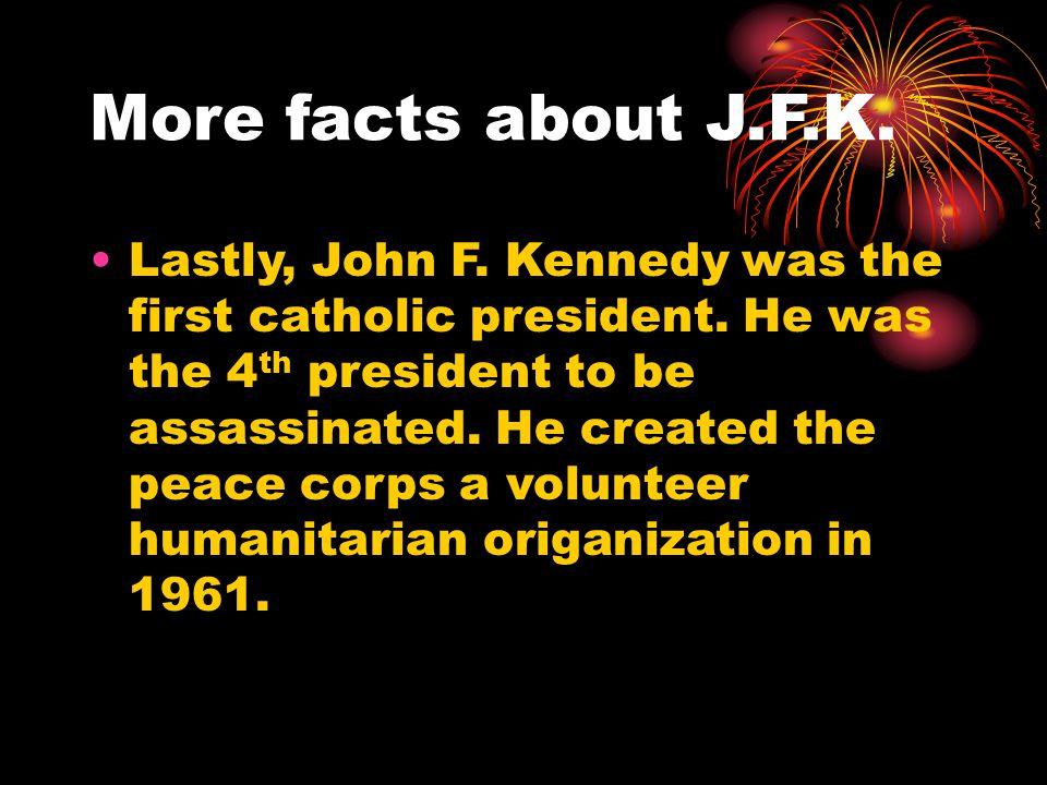The End John F. Kennedy