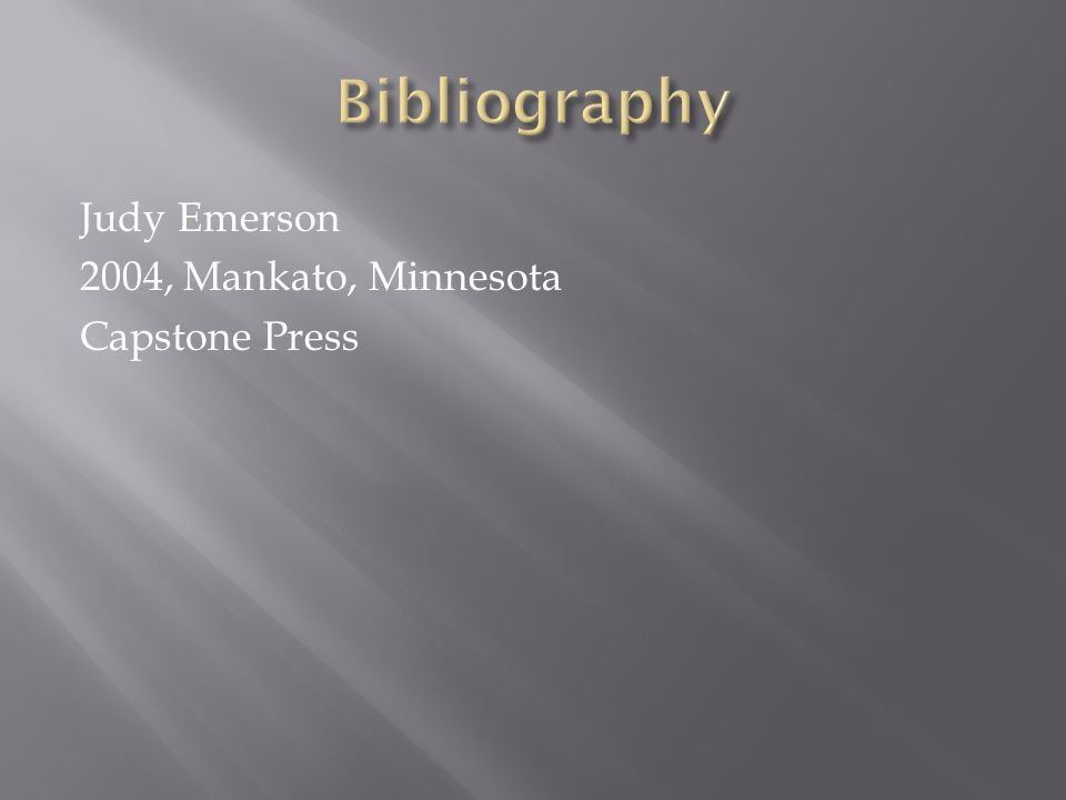 Judy Emerson 2004, Mankato, Minnesota Capstone Press