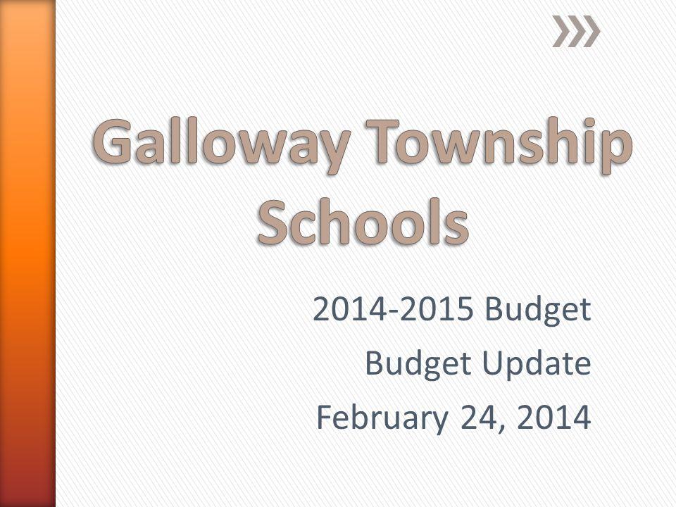 2014-2015 Budget Budget Update February 24, 2014