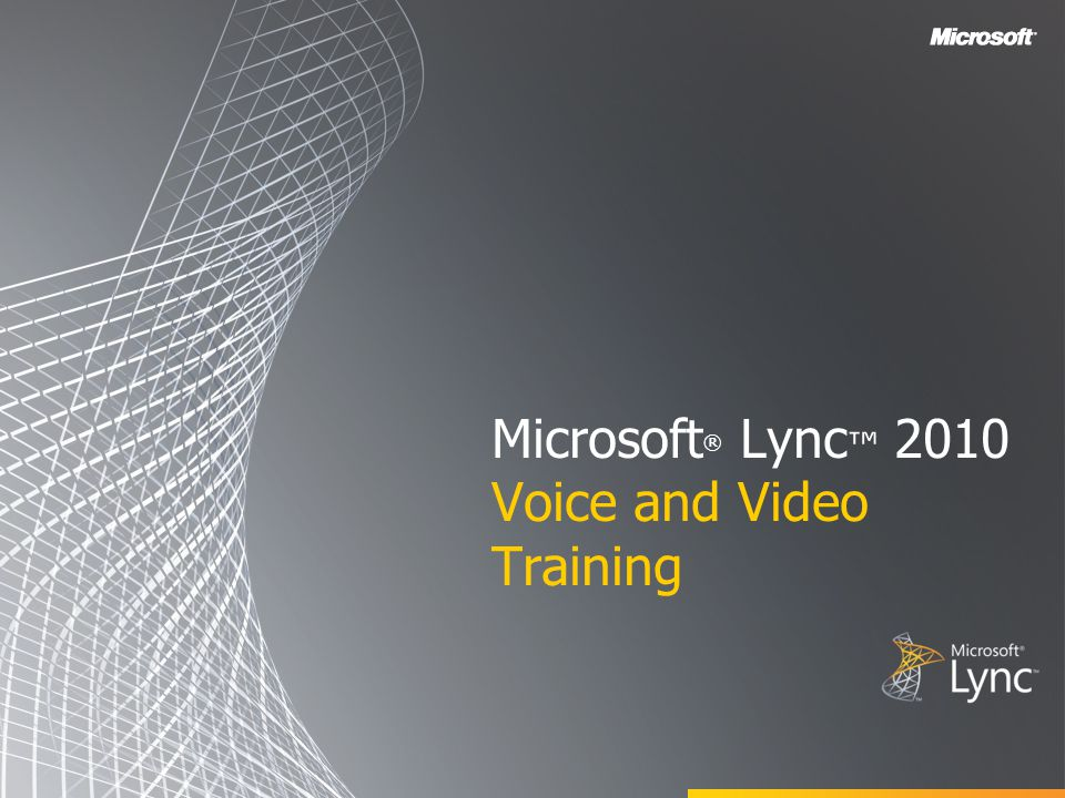 You don t need a webcam to accept a video call from another Office Lync 2010 user.