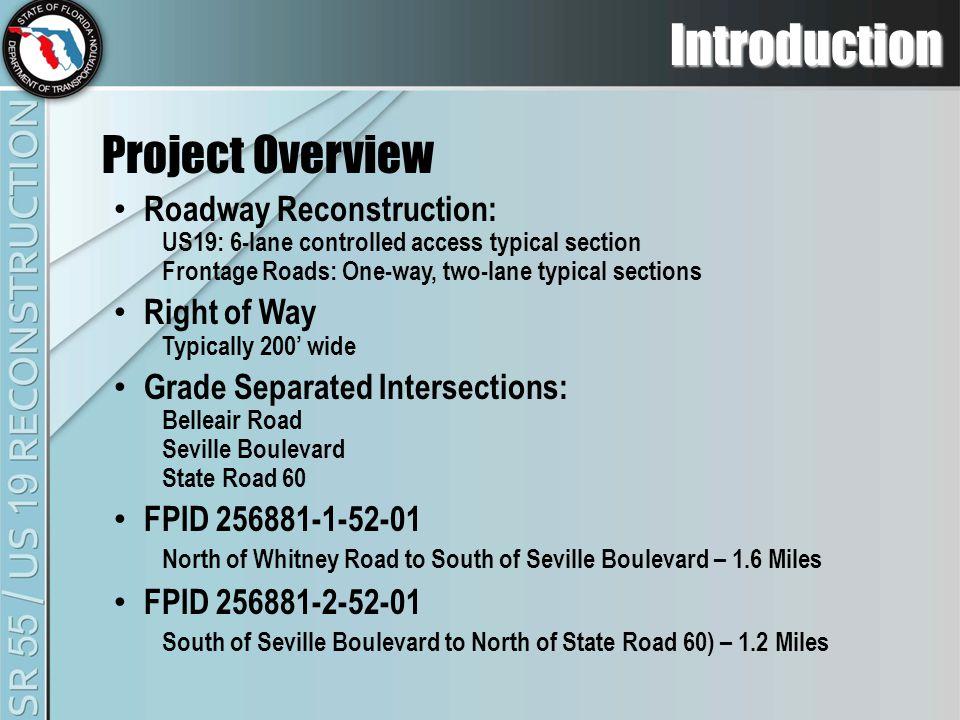Project Description Typical Sections