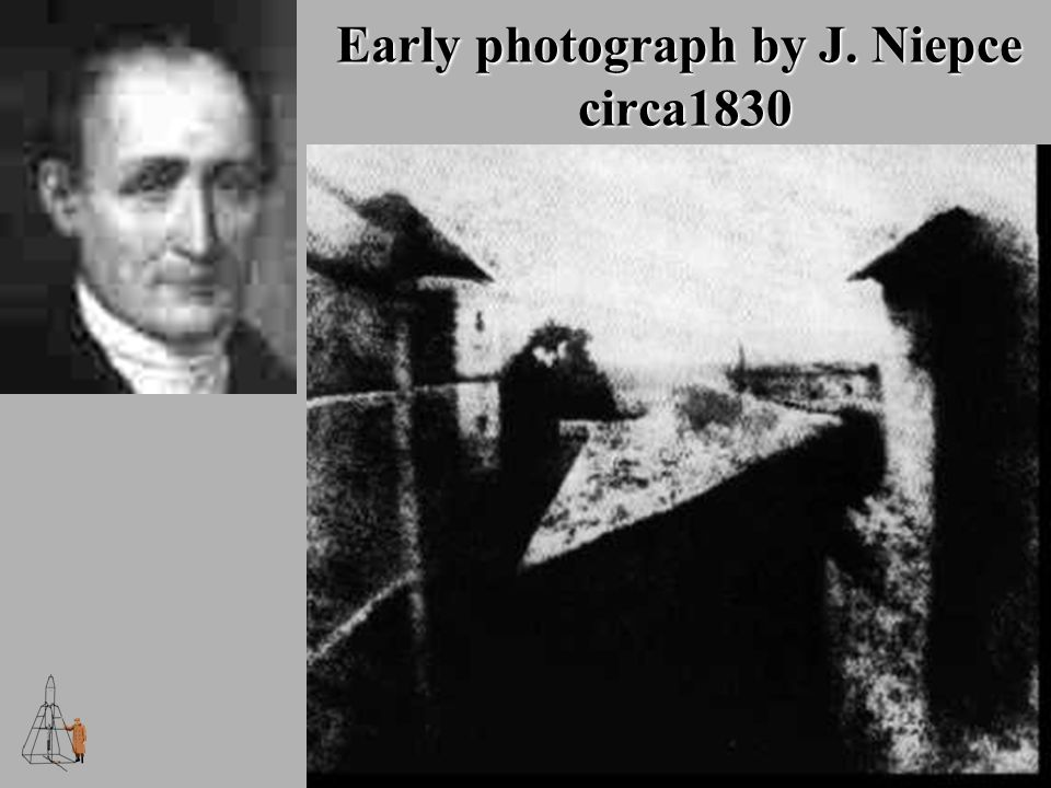 Early photograph by J. Niepce circa1830