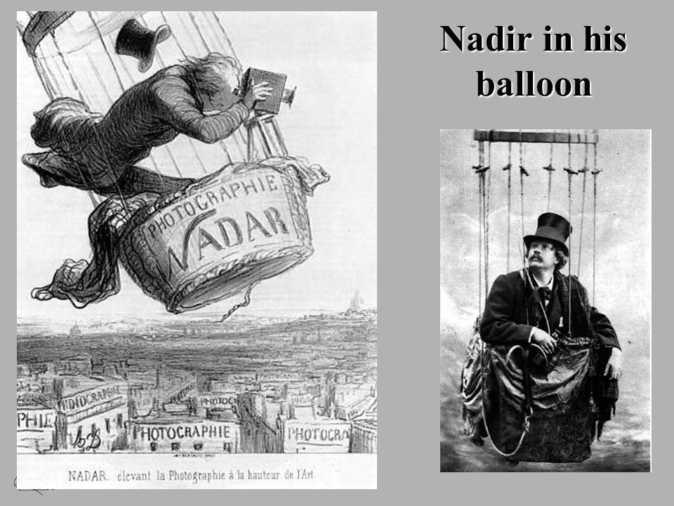 Nadir in his balloon