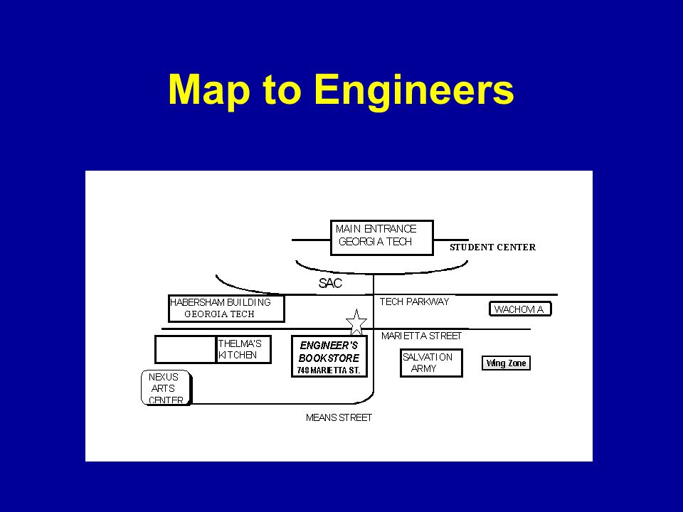 Map to Engineers
