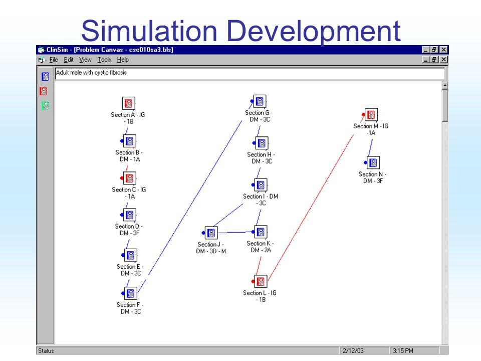 Copyright 2005 AMP Simulation Development