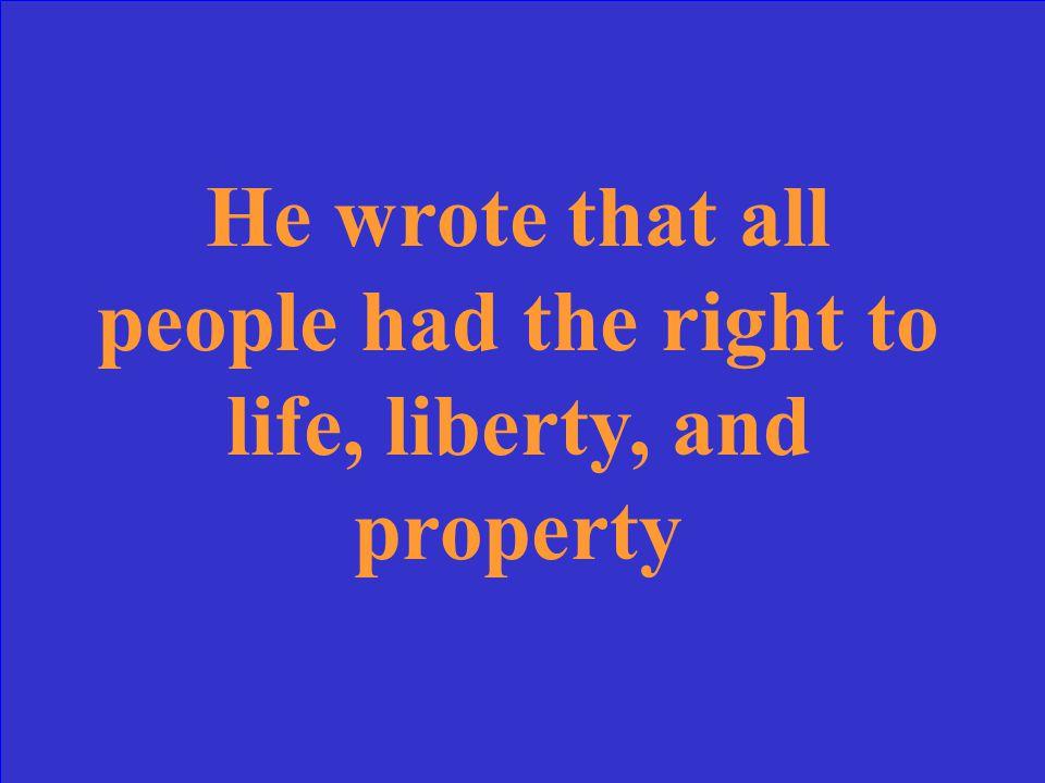 Who was Thomas Hobbes