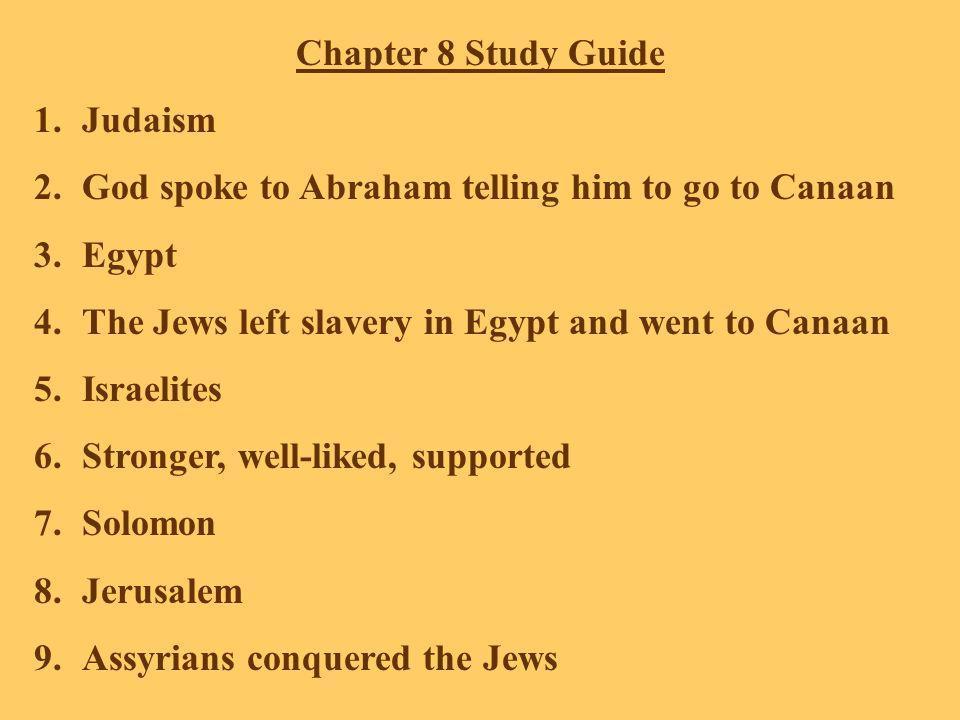 10.Romans, Persians, Chaldeans 11.