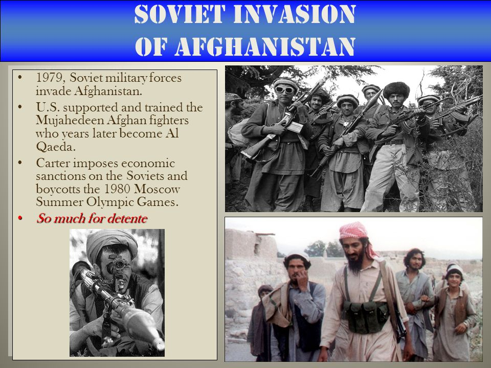 Soviet Invasion of Afghanistan 1979, Soviet military forces invade Afghanistan.
