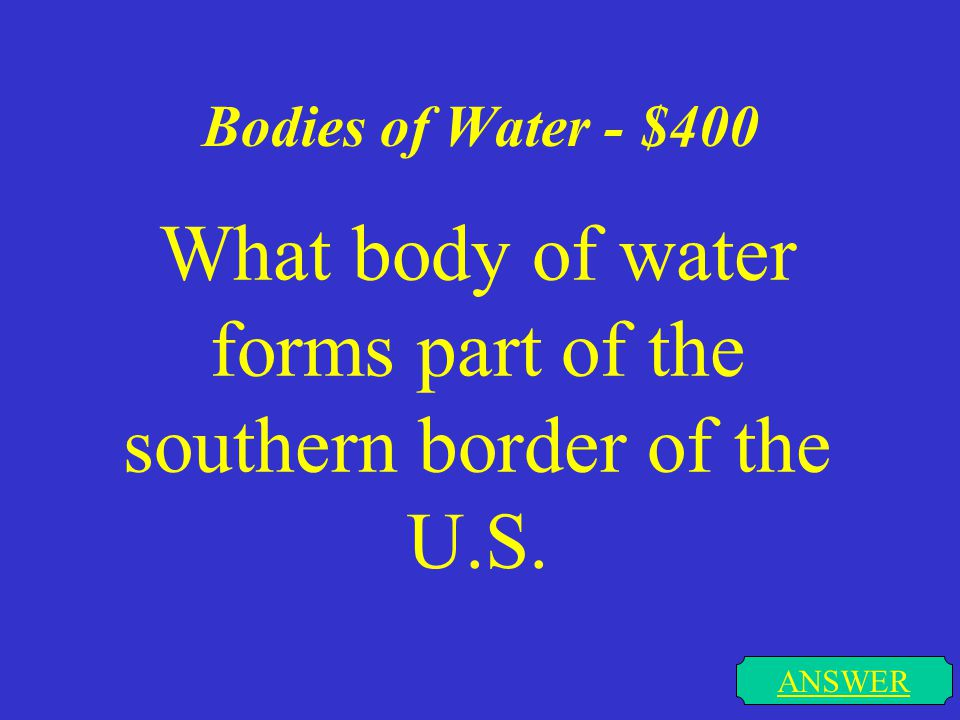Bodies of Water - $300 ANSWER Which lake does the equator pass through and what continent are they located on.