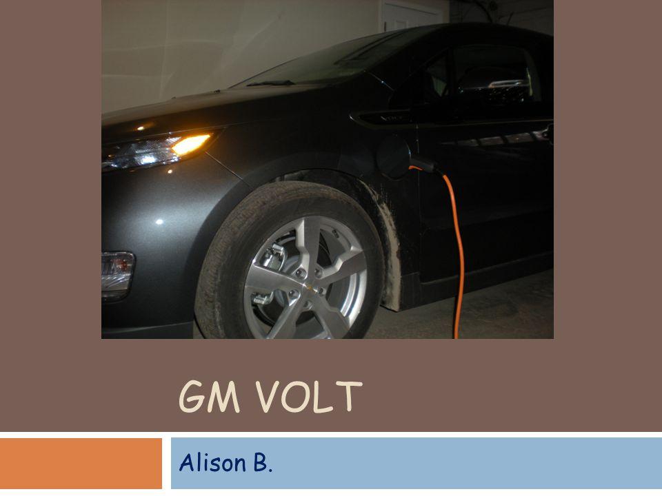 GM VOLT Alison B.