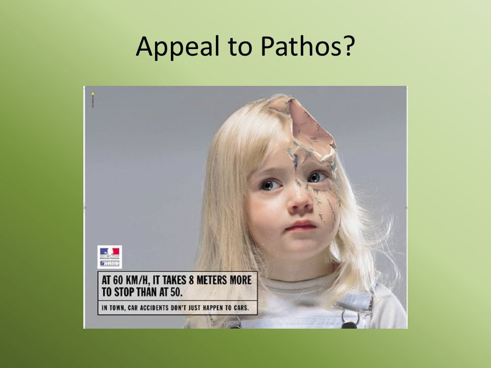 Appeal to Pathos?