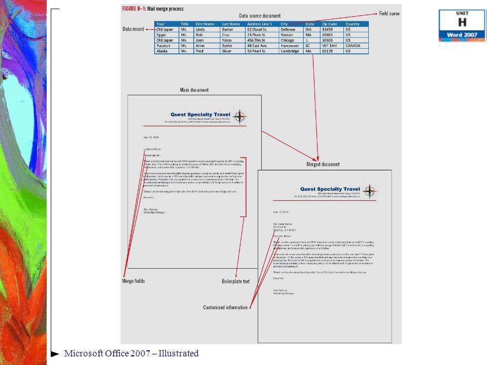 Microsoft Office 2007 – Illustrated
