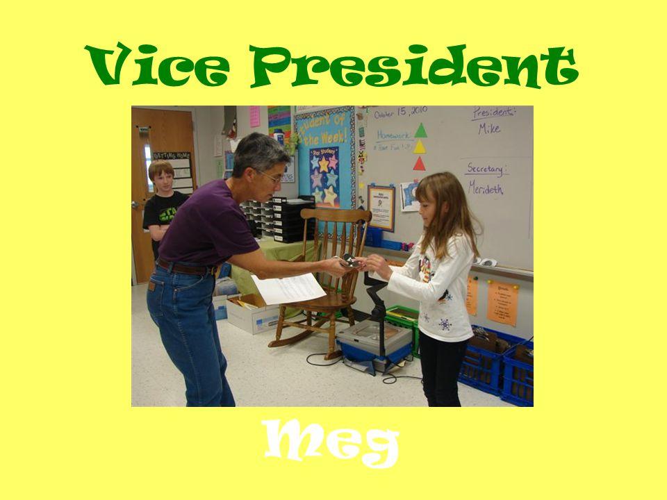 Vice President Meg