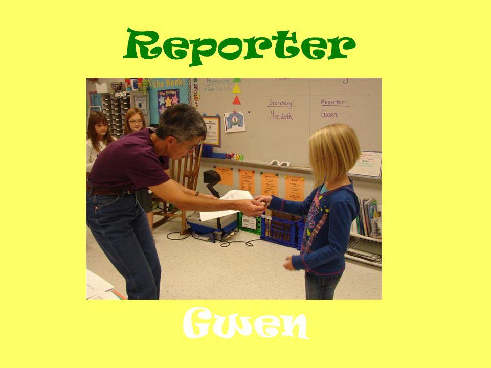 Gwen Reporter