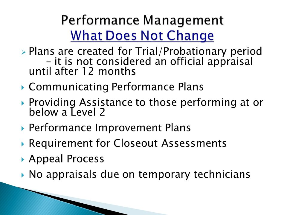Performance Appraisal Application (PAA) The functions available to the employee user are provided in the middle area.