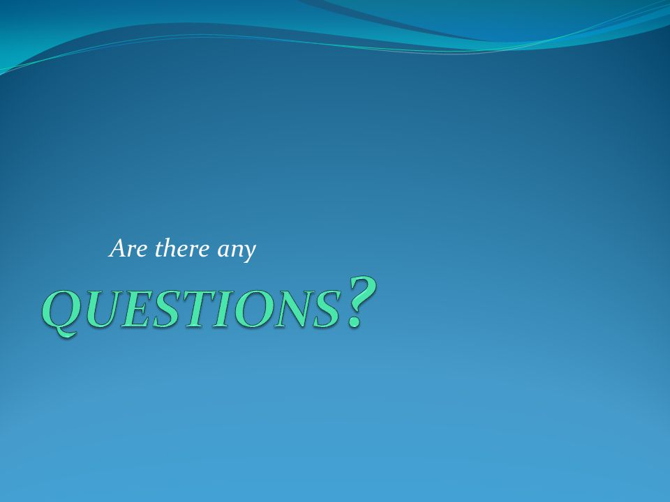 Are there any