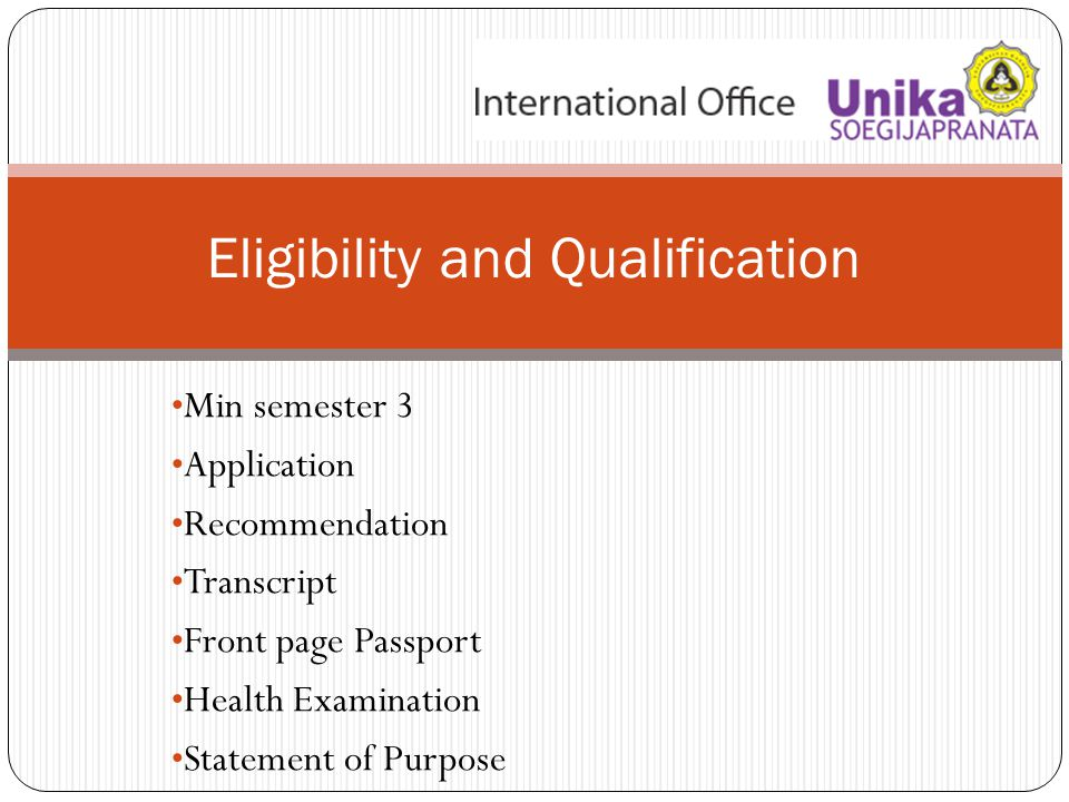 Application to University (check the deadline application) → Acceptance Letter Acceptance Letter → SMS ACUCA Acceptance Letter → Exchange Students SMS ACUCA – Subsidi Biaya Hidup – Subsidi Pesawat → e-ticket PROCEDURE