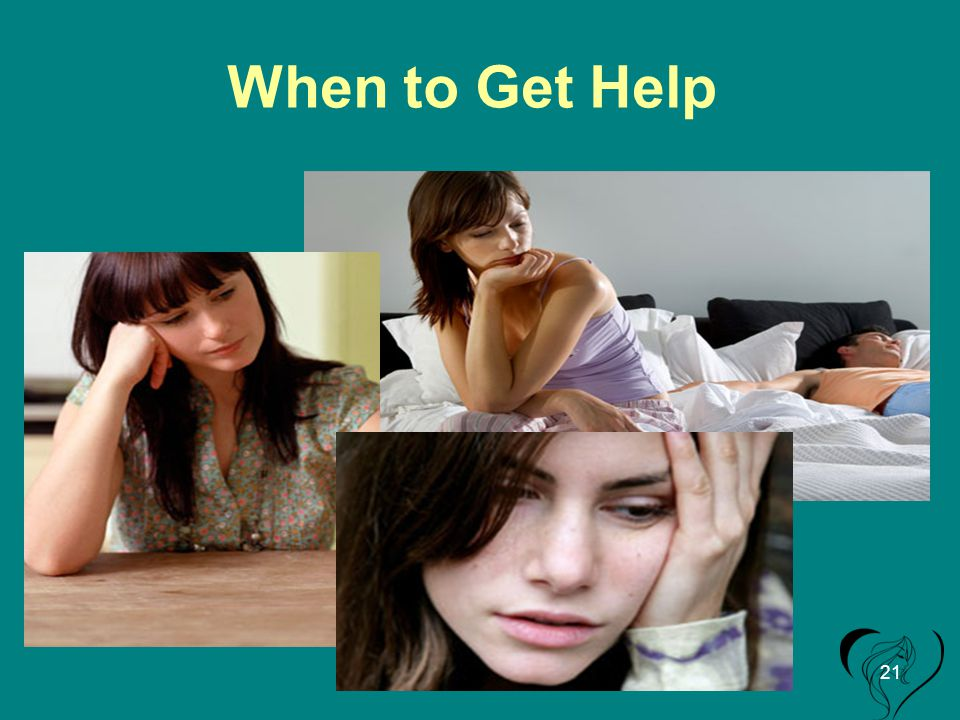 When to Get Help 21