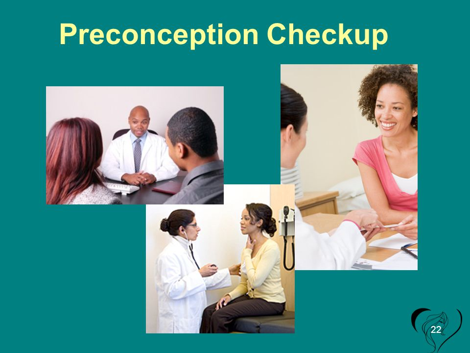 Preconception Checkup 22