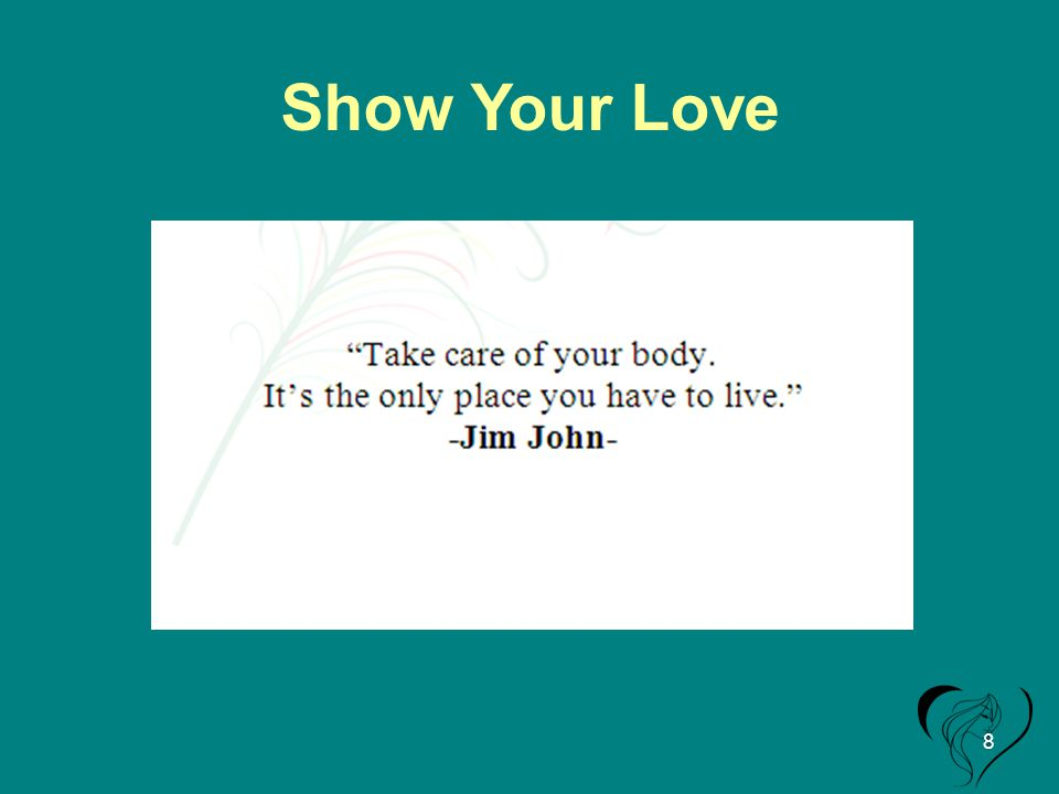 Show Your Love 8