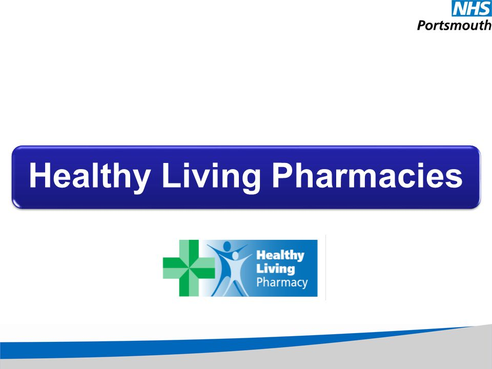 Healthy Living Pharmacies
