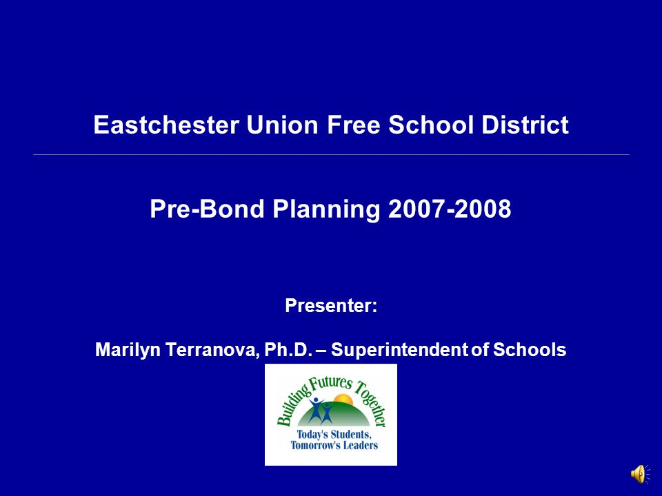 Eastchester Union Free School District Additional Needs Proposition Two