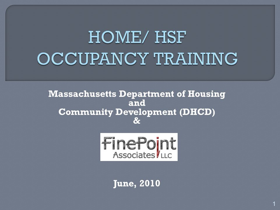 o PJs must verify compliance with HOME/HSF requirements each year o On-site property inspections are required:  Every 3 years for proj.