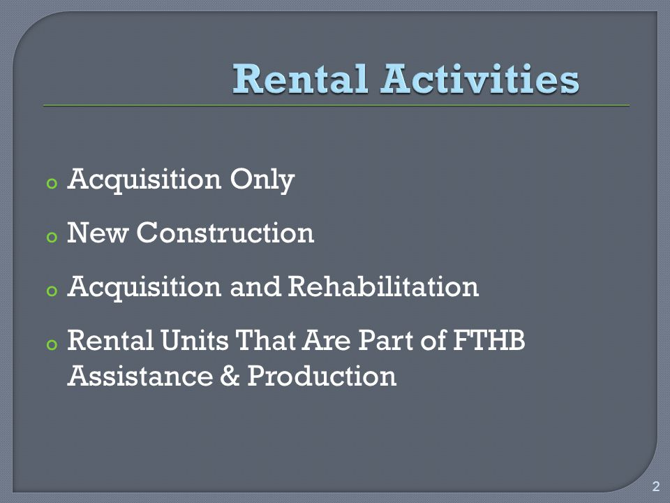 oOnly for project-based subsidies AND if both of the following conditions are true:  The household pays no more than 30% of adjusted income toward rent, and;  The unit is a VLI unit with the HH at/below 50% of AMI oThen the gross rent is the rent allowable under the project-based subsidy program 33