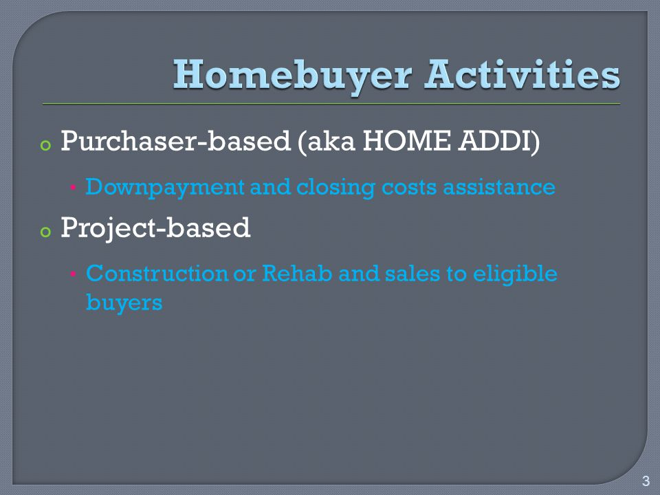 o Single-Family Home o Two-to-Four Unit Property o Condominium o Manufactured Home 4