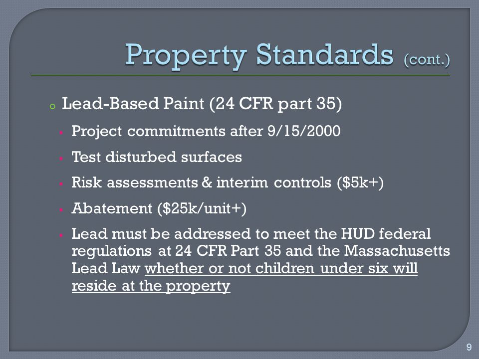 o Over-Income Tenants HOME defers to LIHTC; rent cannot exceed limits set by LIHTC until unit is replaced.