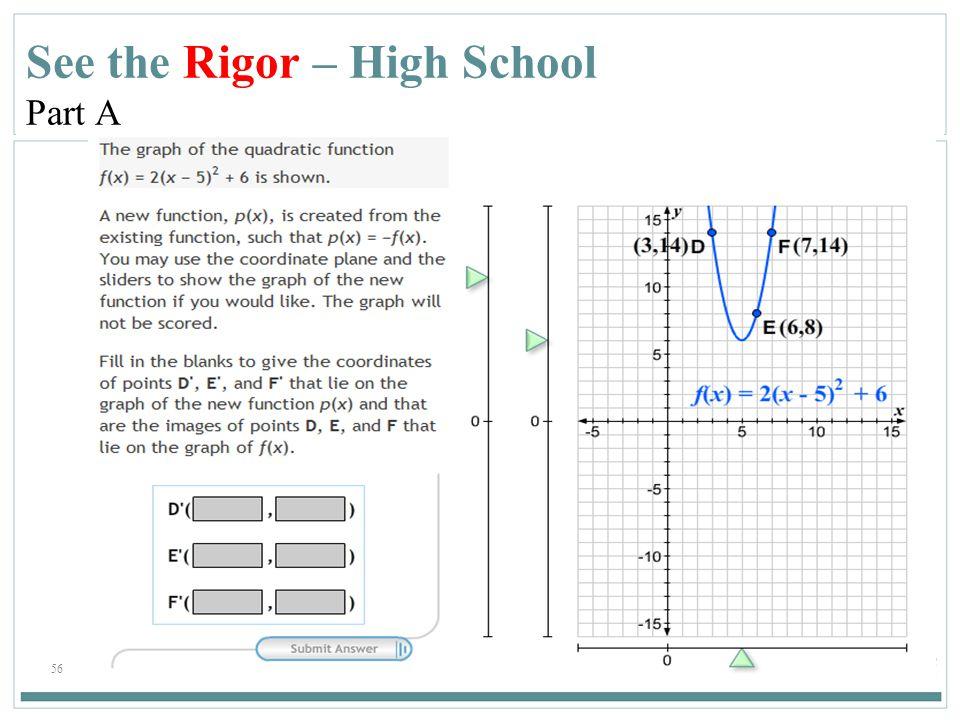 56 See the Rigor – High School Part A